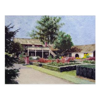 Rotary Gardens in Janesville Wisconsin- postcard