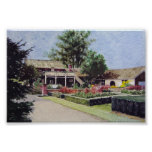 Rotary Gardens in Janesville Wisconsin- poster