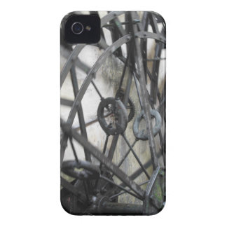 Rotary motion of the water wheel in a watermill iPhone 4 case