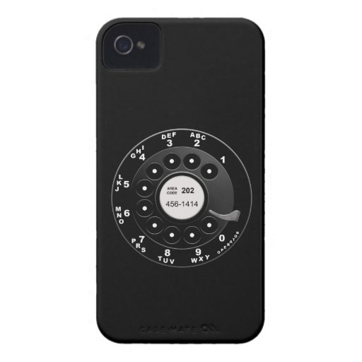 Rotary Phone Dial Case-Mate iPhone 4 Case