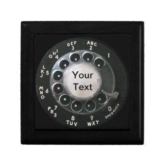 Rotary Phone Dial Gift Box