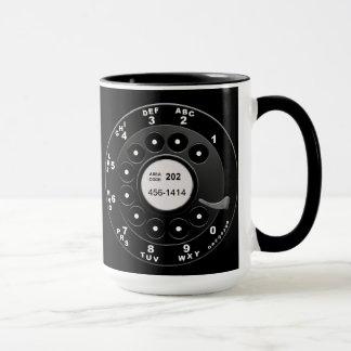 Rotary Phone Dial Mug