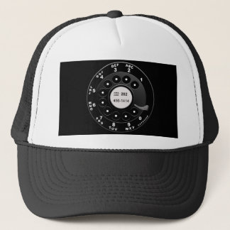 Rotary Phone Dial Trucker Hat