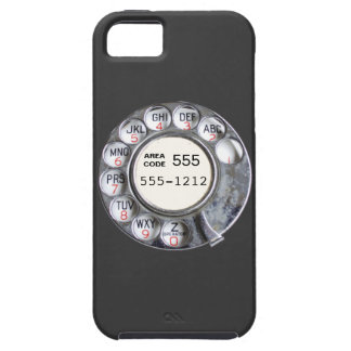 Rotary phone dial with phone number iPhone SE/5/5s case