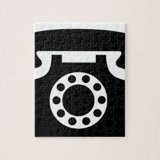 Rotary Phone Jigsaw Puzzle