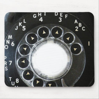 Rotary Phone Mouse Pad