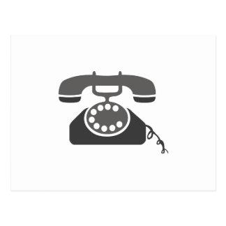 Rotary Phone Post Card