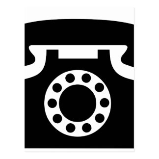 Rotary Phone Postcard