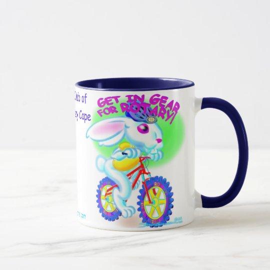 Rotary Rabbit Mug 12c