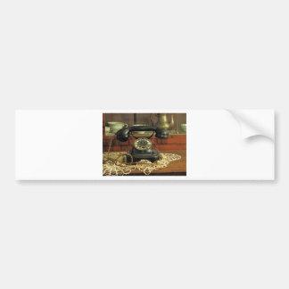 Rotary Telephone Bumper Sticker