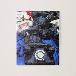 Rotary Telephone Jigsaw Puzzle