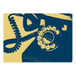 Rotary Telephone Pop Art Business Card Templates