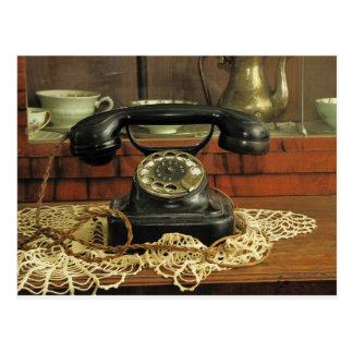 Rotary Telephone Postcard