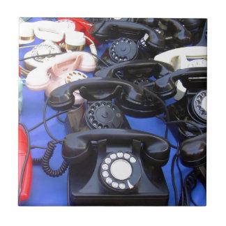 Rotary Telephone Tile