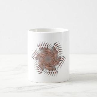 Rotating blades coffee mug