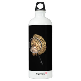 Rotating Brains with Magnifyer Water Bottle