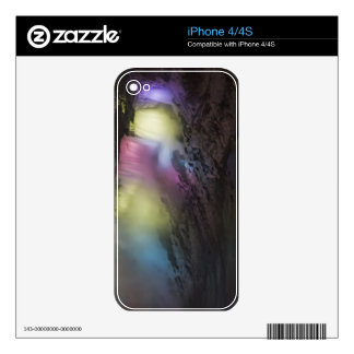 Rotating colored light display on American Falls Skins For iPhone 4S