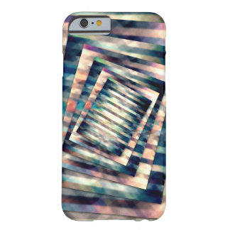Rotating Grunge Rectangle Barely There iPhone 6 Case