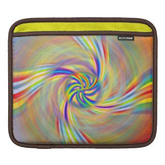Rotating Rainbow iPad Sleeve