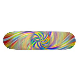 Rotating Rainbow Skateboard