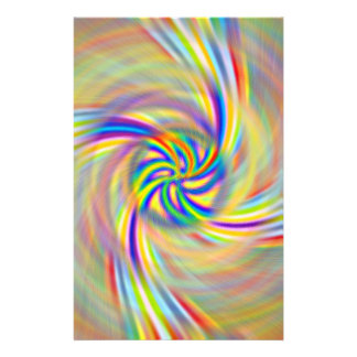 Rotating Rainbow Stationery