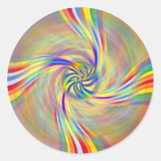 Rotating Rainbow Stickers