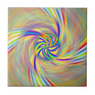 Rotating Rainbow Tile