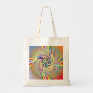 Rotating Rainbow Tote Bag