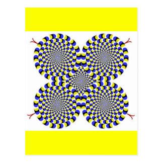 Rotatingsnakes Postcard
