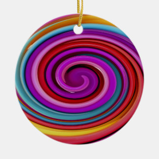 Rotation, abstract art, photo art, ceramic ornament