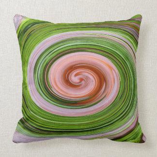 Rotation, abstract art, photo art, pillow
