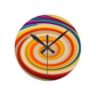 Rotation, abstract art, photo art, round clock