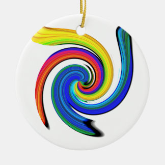 Rotation Ceramic Ornament