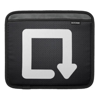Rotation Directions Graphic Sleeves For iPads