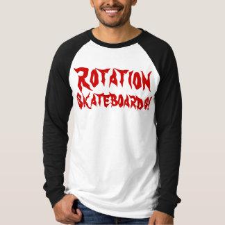 Rotation skateboard longsleevs size M T-Shirt