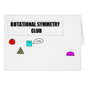 Rotational Symmetry Card