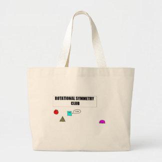 Rotational Symmetry Jumbo Tote Bag