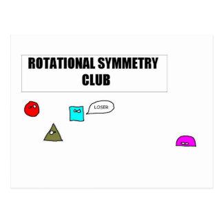Rotational Symmetry Postcard