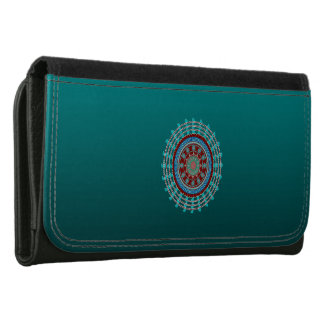 Rotations Large Leather Wallet