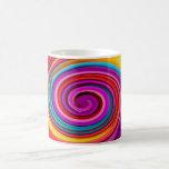 Rotatividad, arte abstracto, arte de foto, taza de café