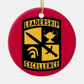 ROTC Monogram Christmas Ornament