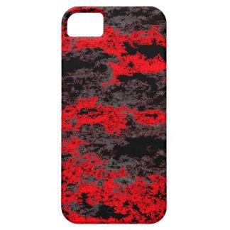 Rote Schmutz-Wolken iPhone SE/5/5s Case