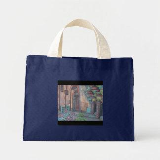 Rotella, Italy Mini Tote Bag