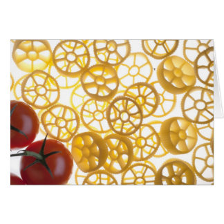 Rotelle and Tomatoes Greetings Card