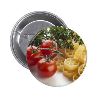 Rotelle Pasta and Ingredients Button