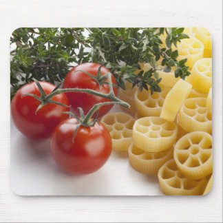 Rotelle Pasta and Ingredients Mousepad