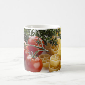 Rotelle Pasta and Ingredients Mug