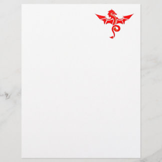 roter Drache red dragon