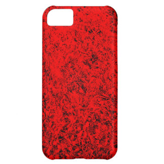 roter rasen design iPhone 5C cover
