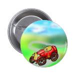 Rotes altes Auto Button